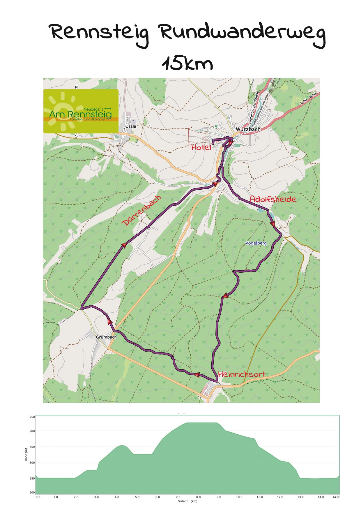 Rennsteig Rundwanderweg