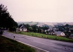 Ortseinfahrt Wurzbach 1994