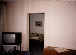 Blick vom Wohnraum ins Schlafzimmer 1994