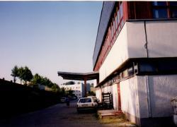 Rückseite vom Hotel 1994