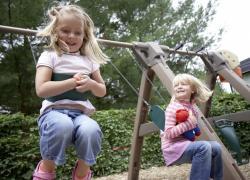 Familienurlaub in Thüringen mit Kinderspielplatz