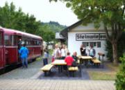 Halt in Steinwiesen