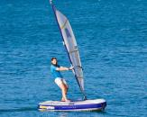 Surfen für Anfänger am Thüringer Meer