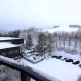 Blick vom Balkon am 26.1.2015