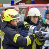 Feuerwehrvorführung
