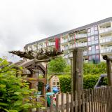 Hotelansicht Kinderspielplatz
